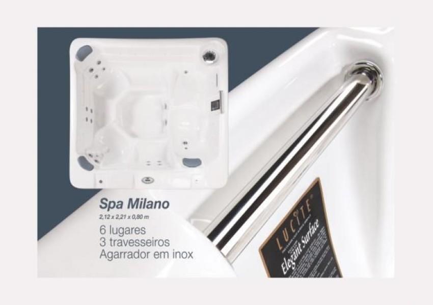 Foto de Spa Milano Básica em Poliester